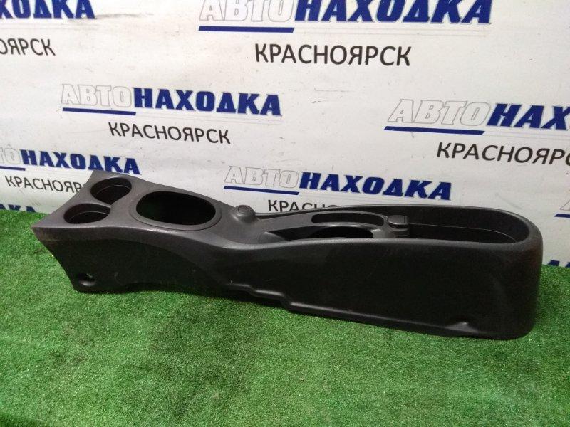 """Консоль между сидений Nissan Note E12 HR12DE 2012 черный, цвет салона - """"G"""""""