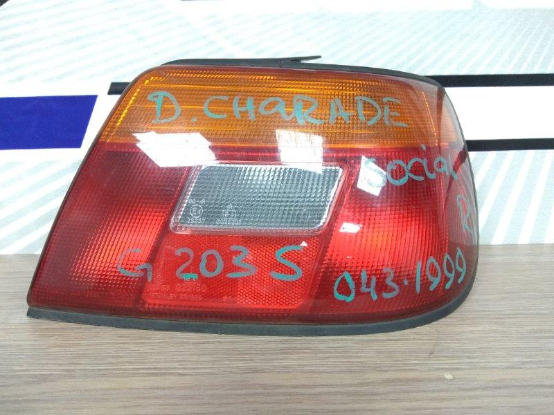Фонарь задний Daihatsu Charade Social G203S HE-EG 1994 задний правый 043-1999 седан