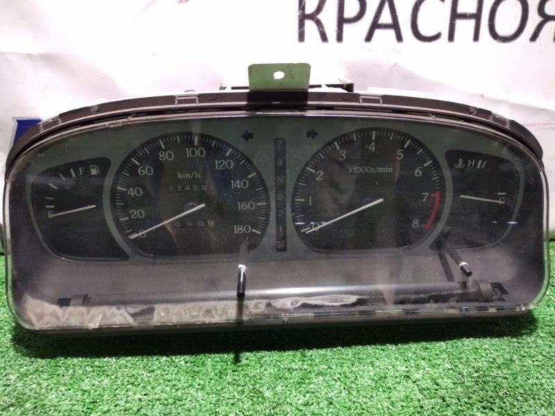 Щиток приборов Nissan Presea R11 GA15DE 24810-40Y71 АТ с тахометром+механический одометр, пробег