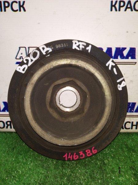 Шкив коленвала Honda Stepwgn RF1 B20B 1996 на 3 ремня