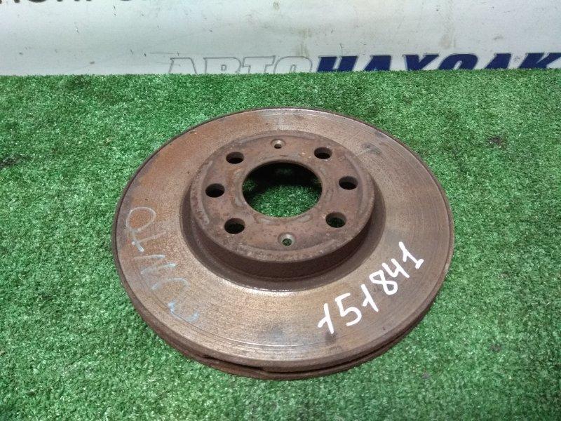 Диск тормозной Fiat Punto 199 350 A1.000 2005 передний передний, D=255мм. /есть небольшой износ,