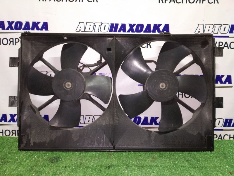 Вентилятор радиатора Mitsubishi Outlander CW5W 4B12 2005 2 вент