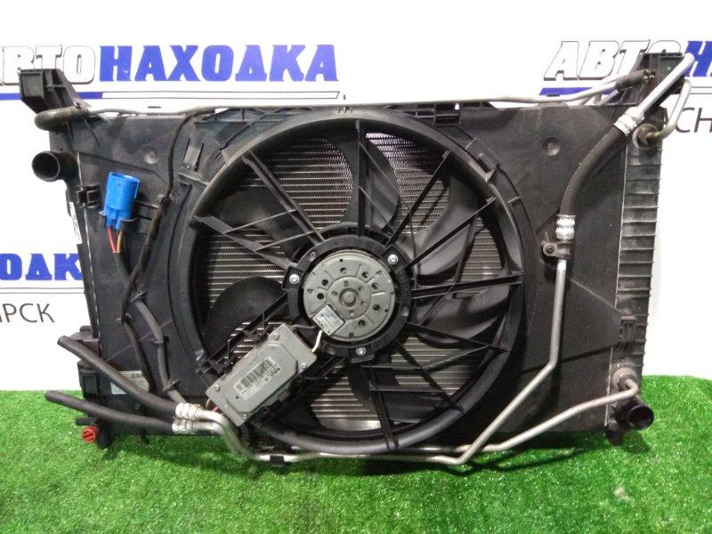 Радиатор двигателя Mercedes-Benz A170 169.032 266.940 2004 A1695000003 A/T , с диффузором и вентилятором +