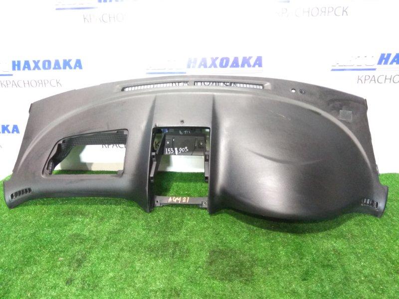 Панель приборов Toyota Ipsum ACM21W 2AZ-FE 2001 верхняя часть торпедо, без заглушки