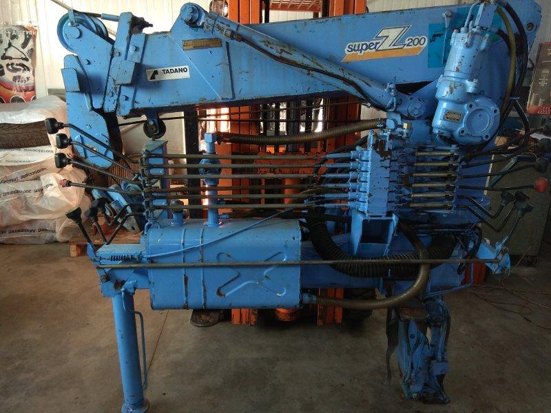 Крановая установка Tadano Super Z200 310-220-20030 Модель Z204- 2,0 тонны, 4 секции, стрела 4,8 метра 5