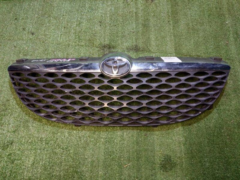 Решетка радиатора Toyota Duet M100A EJ-DE 2001 53111-97403 2MOD. ХРОМ ПОЛОСА