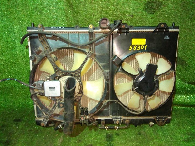 Радиатор двигателя Mitsubishi Rvr N61W 4G93 09.1999 AT, 2MOD, ВЫСОКИЙ.