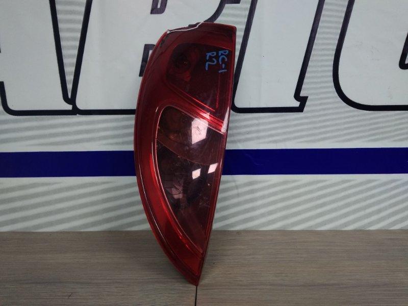 Фонарь задний Subaru R2 RC1 EN07 2003 задний левый 4036 *** скол угла