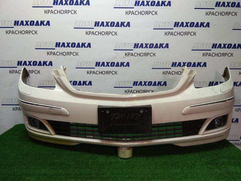 Бампер Mercedes-Benz B170 245.233 266.960 2005 передний перед, 1 модели 2005-2007гг., белый, туманки (1698,