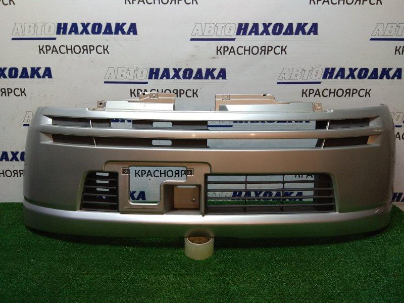 Бампер Suzuki Mr Wagon MF21S 2001 передний перед, серебро , ХТС