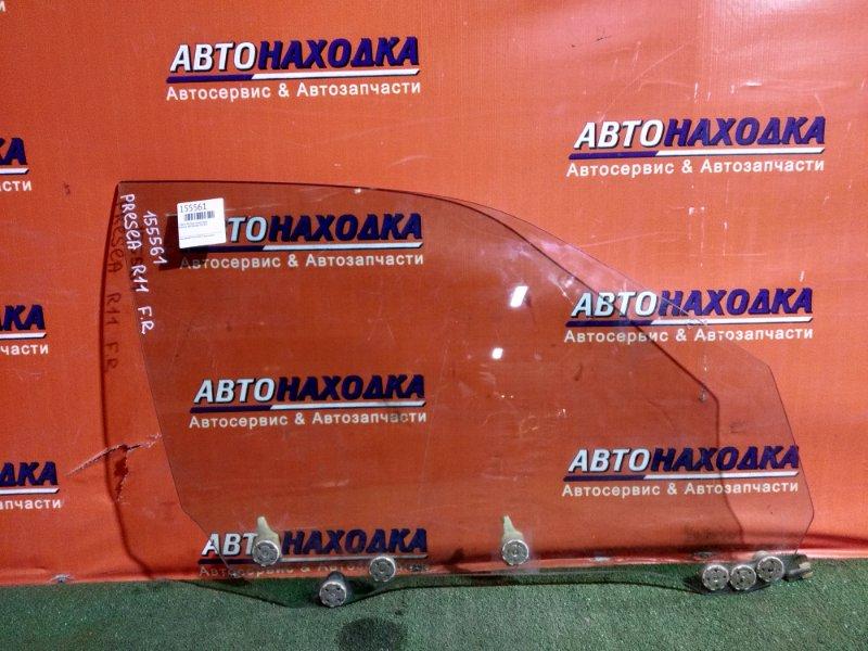 Стекло боковое Nissan Presea R11 GA15DE переднее правое