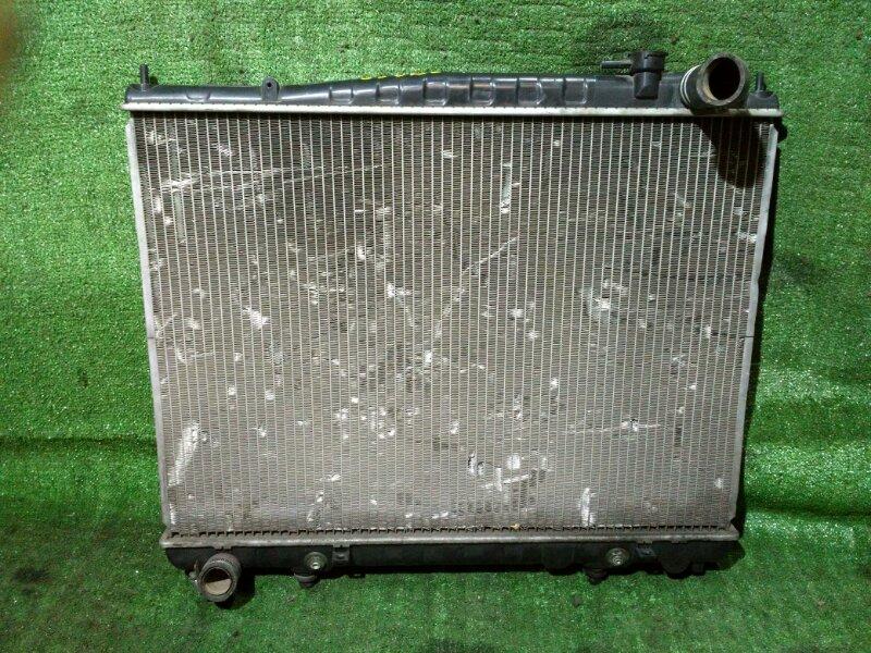 Радиатор двигателя Nissan Terrano RR50 TD27T AT. БЕЗ ДИФФУЗОРА