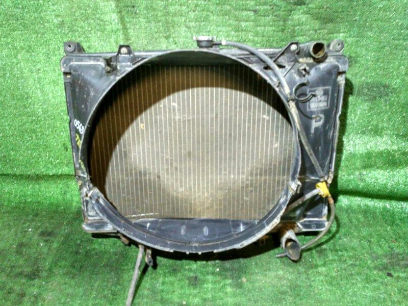 Радиатор двигателя Nissan Terrano WHYD21 VG30E AT, ПОД ЗАПАЙКУ