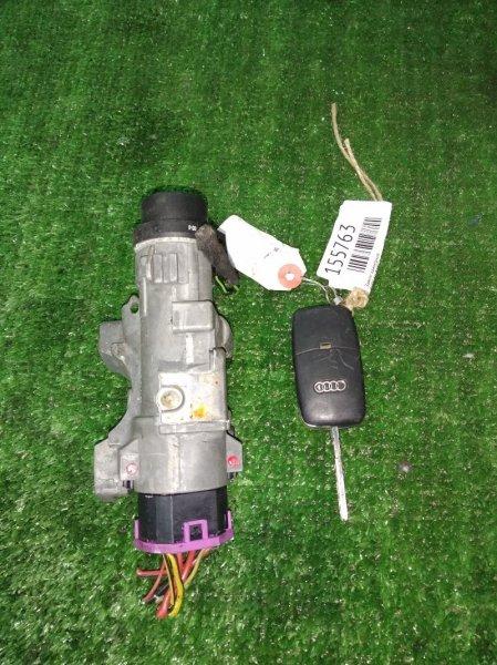 Замок зажигания Audi A6 Allroad C5 BES 2000 4B0 905 851 F 1 ключ