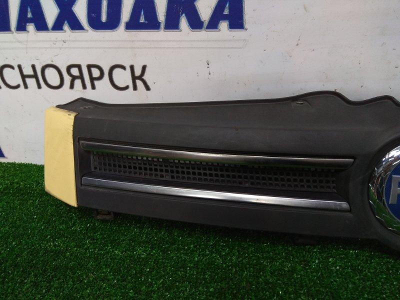 Решетка радиатора Fiat Panda 2003 1мод, жёлтые бока, хром полоски