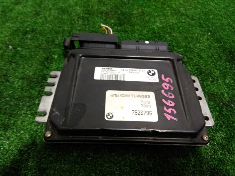 Компьютер Mini Cooper MINI R50 W10B16A 2001 12147520019, 12147526786, S1188012001, S83293, TE06993 Блок управления