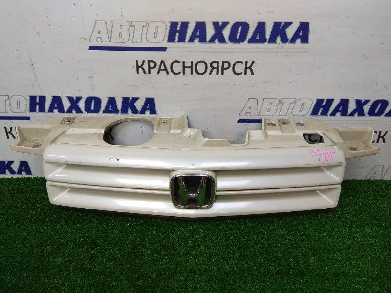 Решетка радиатора Honda Capa GA4 2000 2 мод, белый перламутр
