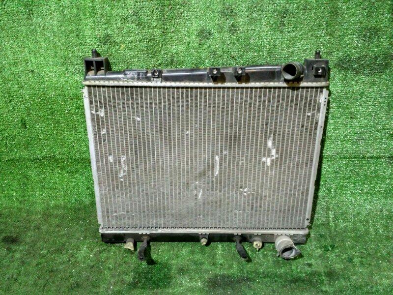 Радиатор двигателя Toyota Vitz NCP10 1NZ-FE AT. БЕЗ ДИФФУЗОРА