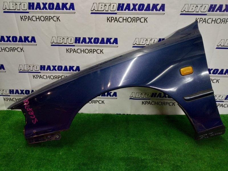 Крыло Toyota Scepter SXV15 5S-FE переднее левое большая вмятина