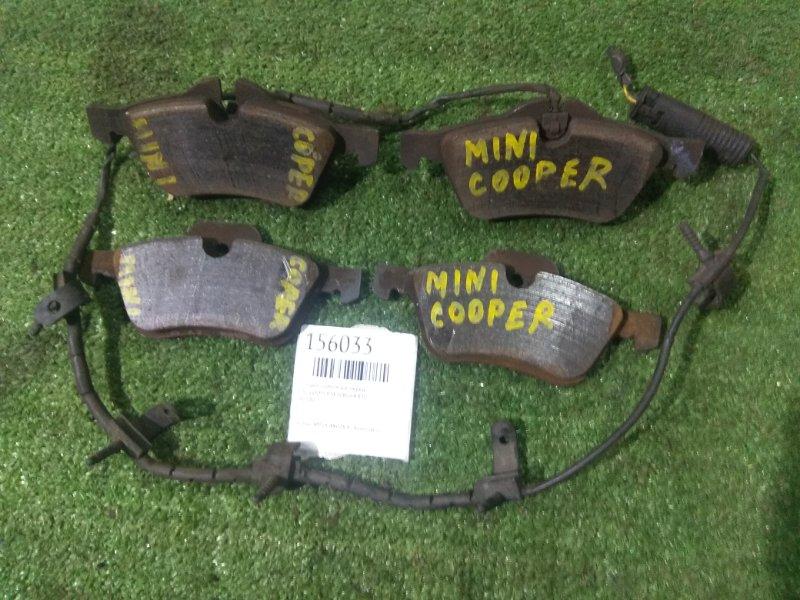 Колодки тормозные Mini Cooper R50 W10B16A передние PN0186