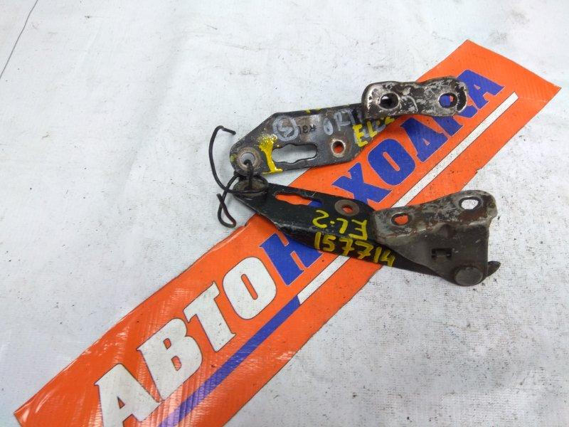 Кронштейн капота Honda Orthia EL1 B18B 1995 60170-ST0-000ZZ, 60120-ST0-000ZZ пара