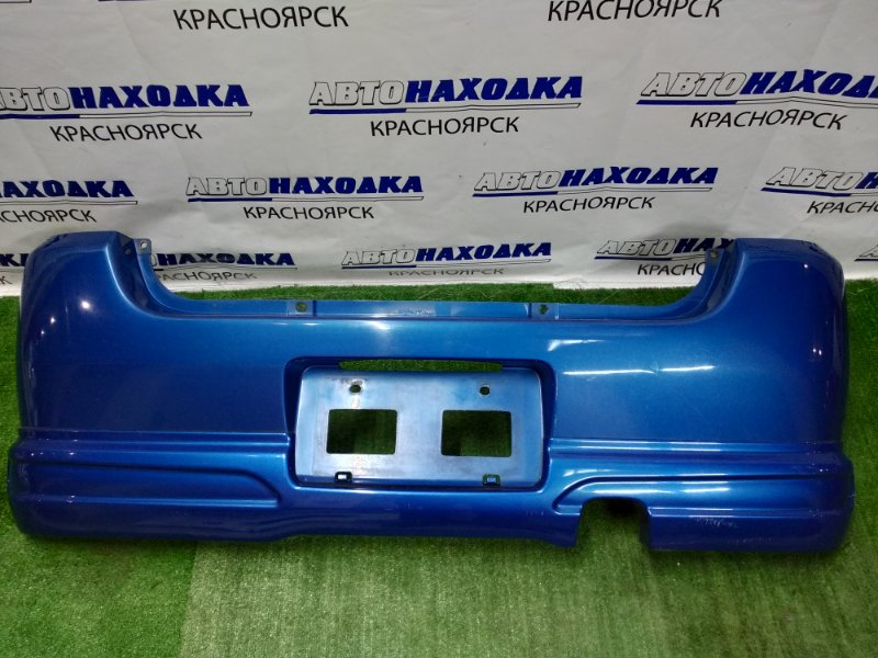 Бампер Subaru Pleo RA1 EN07 1998 задний +обвес
