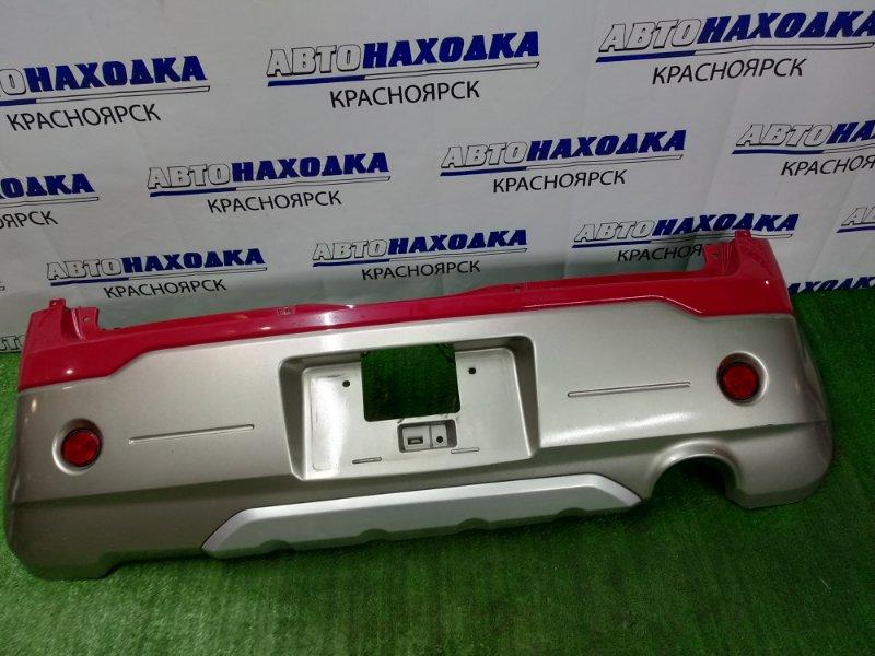Бампер Mitsubishi Ek-Active H81W 3G83 2004 задний