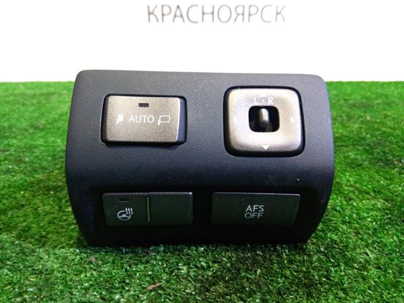 Блок управления зеркалами Lexus Ls460 USF40 1UR-FSE 2006 84870-50470 Блок кнопок на зеркала , обогрев