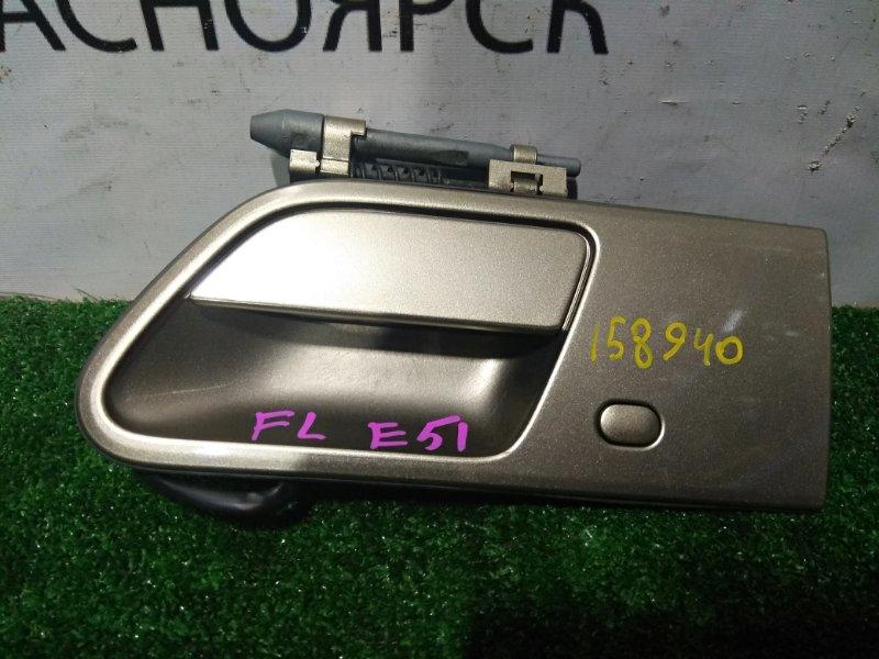 Ручка внешняя Nissan Elgrand E51 VQ35DE 2002 передняя левая FL