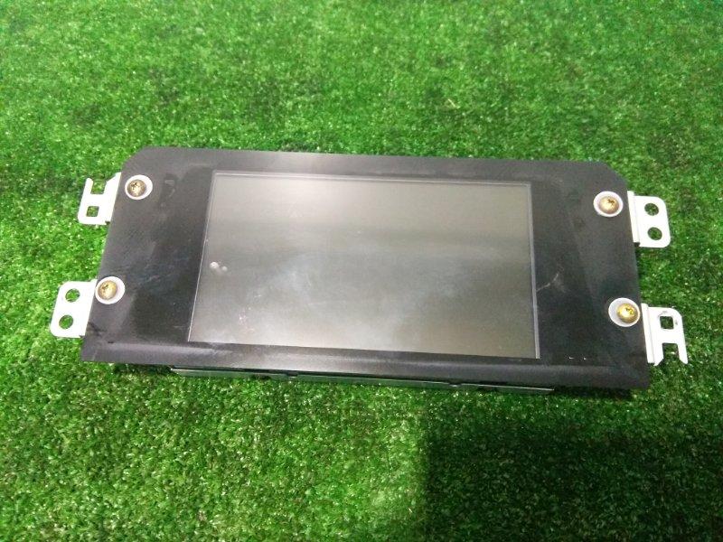 Телевизор в салон Nissan Teana J31 VQ23DE 2003 280907Y100 Дисплей информационный