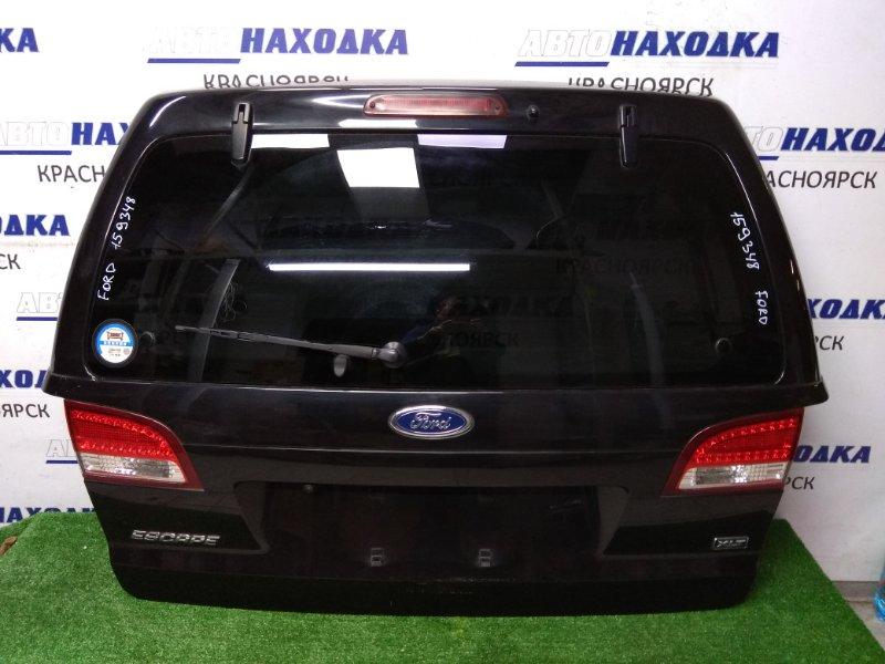 Дверь задняя Ford Escape ZD 2007 задняя II поколение. В сборе, черная, с камерой, без петель.