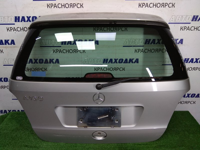 Дверь задняя Mercedes-Benz A160 W168 2001 задняя в сборе, 2 модель, серебро 761U (POLAR SILVER - METALLIC PAINT)