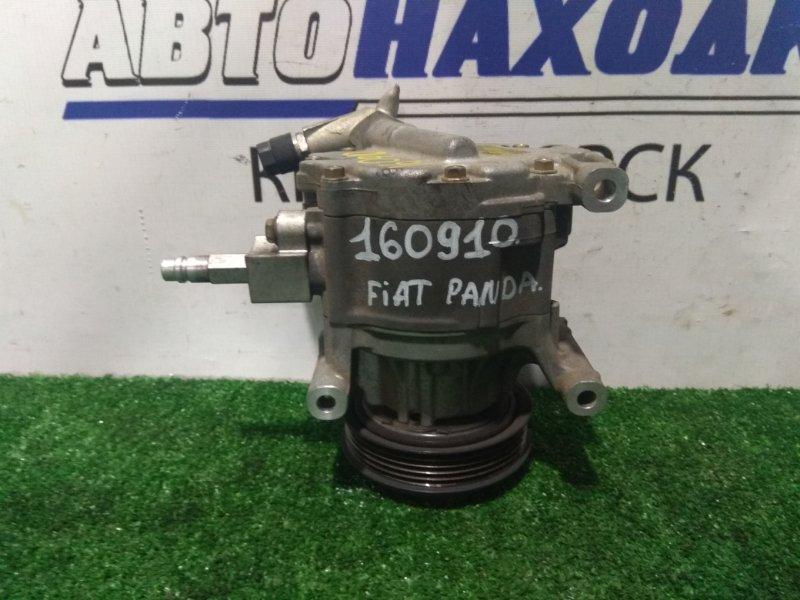 Компрессор кондиционера Fiat Panda 169 188 A4.000 2003 5A7875000 пробег 93 т.км.