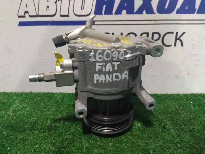 Компрессор кондиционера Fiat Panda 169 188 A4.000 2003 пробег 66 т.км.