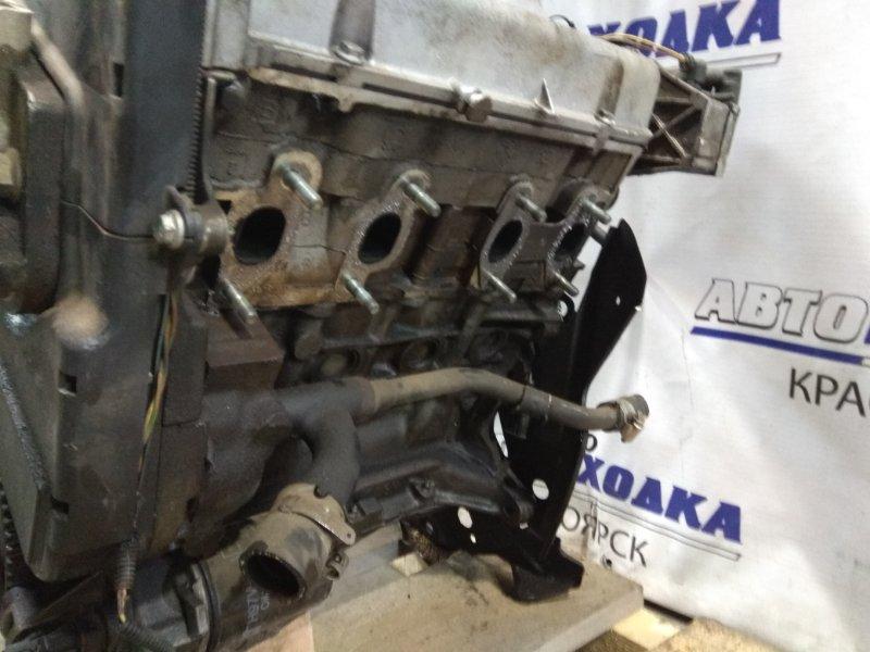 Двигатель Fiat Panda 169 188 A4.000 2003 2445980 1,2 л. 188A4000 № 2445980 пробег 93 т.км. без генератора,