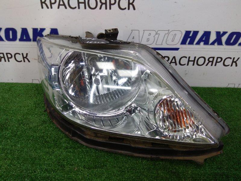Фара Honda Fit Aria GD8 2005 передняя правая 5660 Правая ХТС, галоген 5660, 2 модель, с планкой и