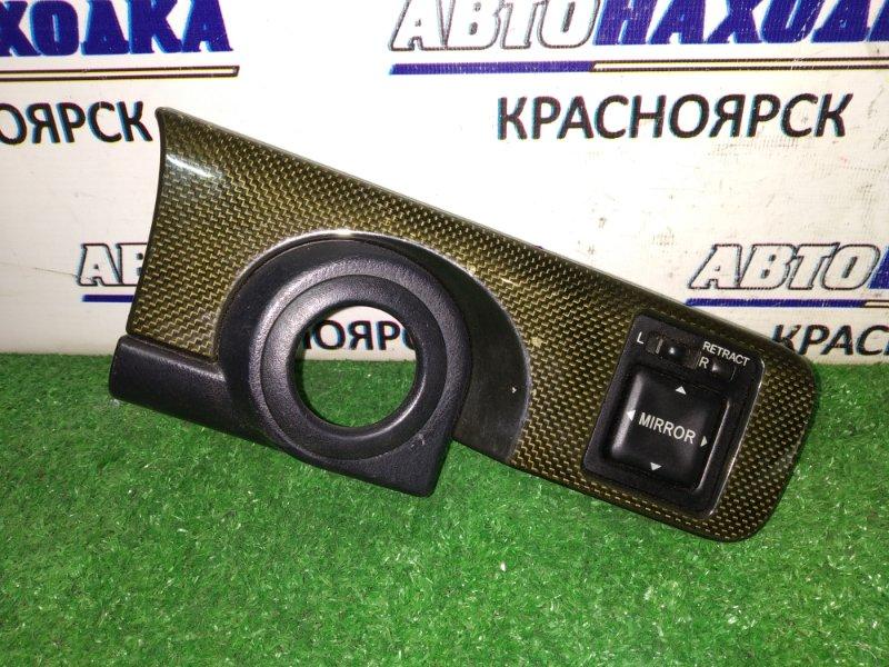 Блок управления зеркалами Toyota Mark Ii GX100 1G-FE карбон