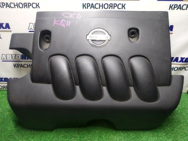 Крышка гбц Nissan Bluebird Sylphy KG11 MR20DE пластик/декоративная