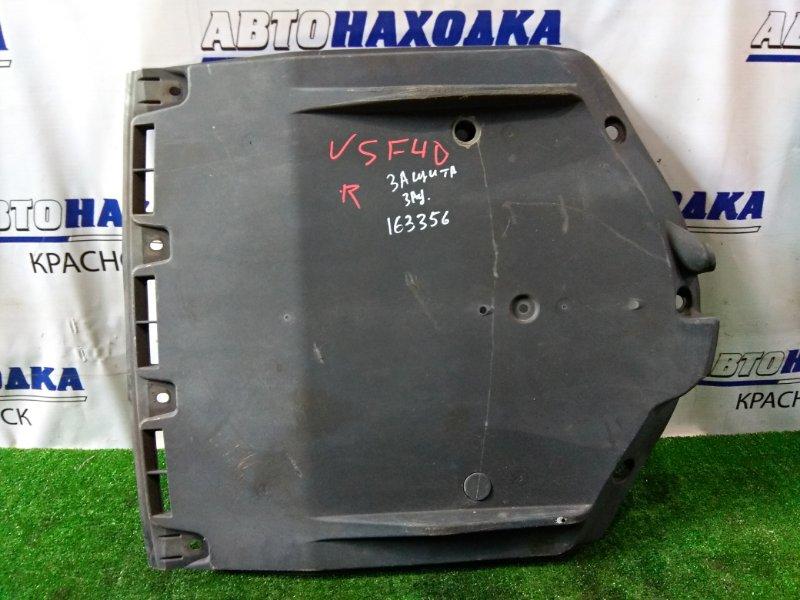 Защита Lexus Ls460 USF40 1UR-FSE 2006 задняя 58398-50010 задняя (сплошная)