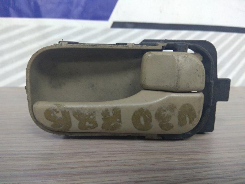 Ручка внутренняя Nissan Bassara JU30 KA24DE задняя правая перед=зад