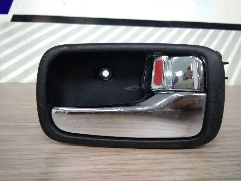 Ручка внутренняя Mitsubishi Lancer Cedia CS5W 4G93 передняя правая FR внутр/хром/К65