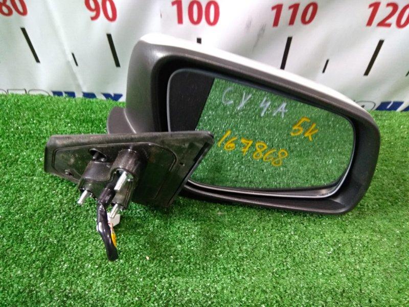 Зеркало Mitsubishi Lancer CY4A 4B11 2007 переднее правое 7632A200 5 контактов