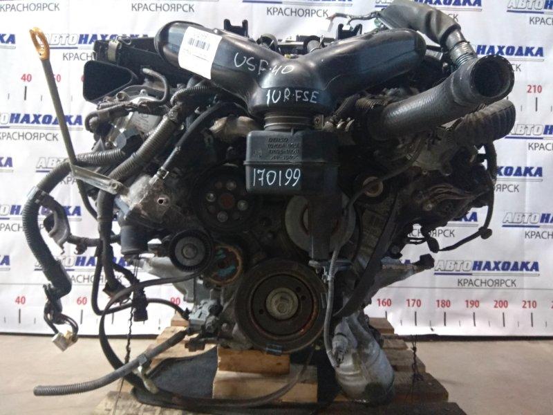Двигатель Lexus Ls460 USF40 1UR-FSE 2006 0020209 № 0020209 Без навесного. На ДВС есть впуск, дроссель,