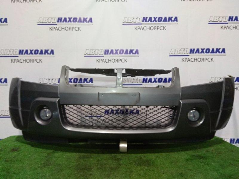 Бампер Suzuki Grand Vitara TD54W J20A 2005 передний 1 мод, с противотуманками
