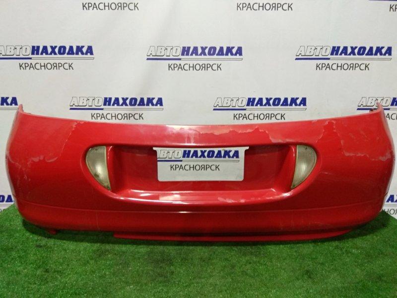 Бампер Mitsubishi Eclipse D32A 4G63T 1994 задний 8104 задний, с фонарями заднего хода