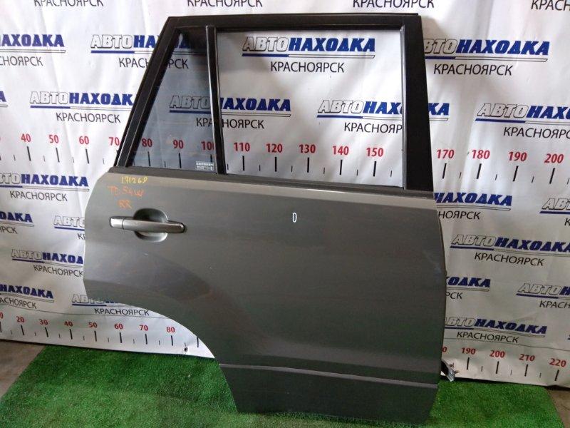Дверь Suzuki Grand Vitara TD54W J20A 2005 задняя правая RR в сборе. есть вмятинка *