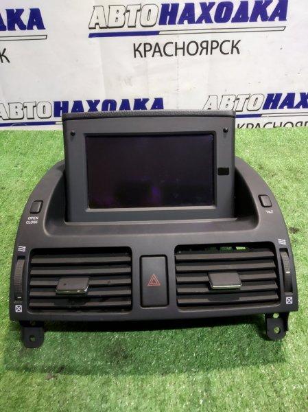 Монитор Toyota Avensis AZT251 монитор с консолью+фоздуховоды печки+кнопка аварийки