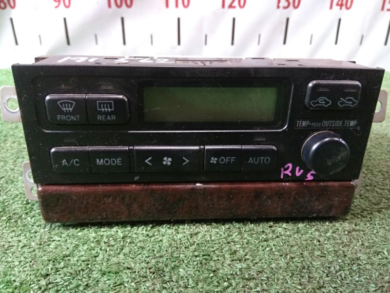 Климат-контроль Toyota Camry Gracia SXV20 5S-FE 1996 с Ж/К экраном, + выдвижной бардачок-полочка