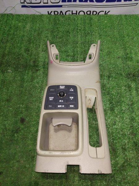 Пластик салона Toyota Avensis AZT251 58931-05040 консоль ручного тормоза, с управлением tv