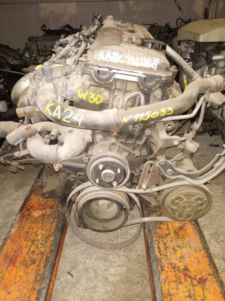 Двигатель Nissan Largo W30 KA24DE 115033U OTC. Гарантия на установку 2 месяца, либо 10000 км пробега,